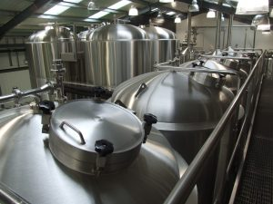 Fermenters at Thornbridge